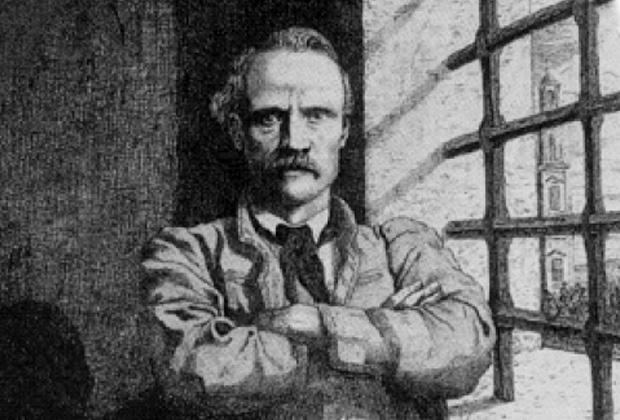 Сигизмунд Сераковский в тюремном заключении