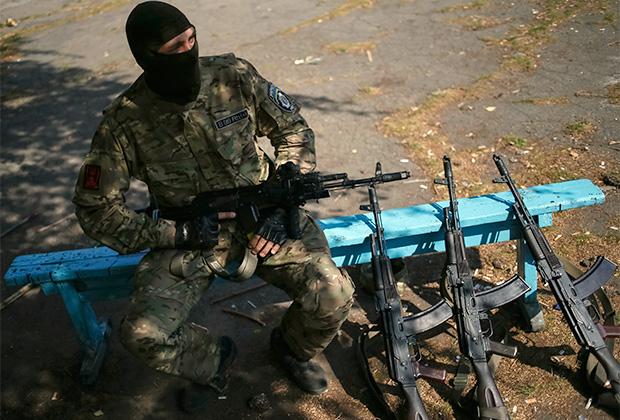 Из зоны АТО поступает масса огнестрельного оружия