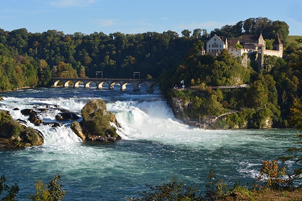 The Rhinefall near Schaffhausen, Switzerland