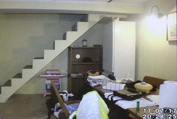 Дом, где держали похищенную девушку