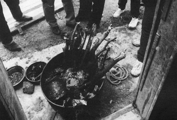 Нганга — котел для жертвоприношений, найденный на ранчо Санта-Элена