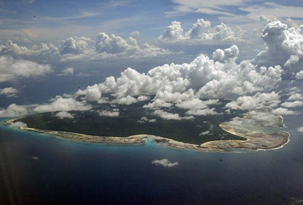 Площадь Северного Сентинельского острова — всего 72 квадратных километра