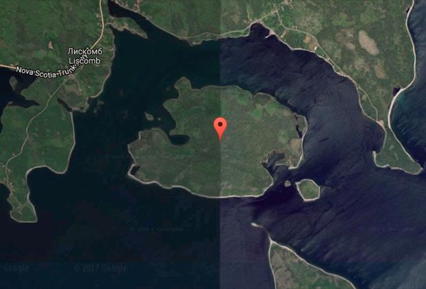 Hemlow Island, Канада