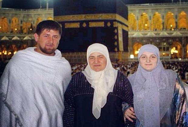 Рамзан Кадыров и его близкие в Мекке