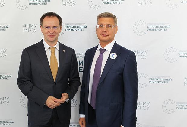 Владимир Мединский и Андрей Волков