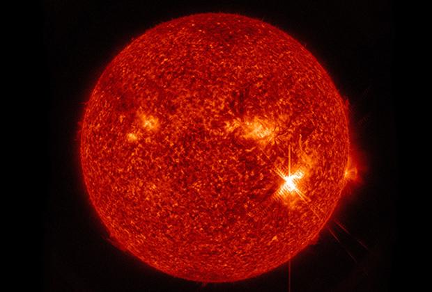 Солнечная вспышка балла X9.3 (произошла 6 сентября 2017 года)