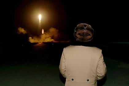 Северная Корея запустила ракету