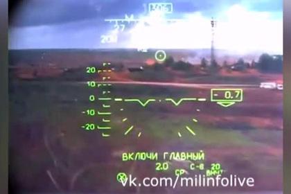 Видео из кабины случайно пустившего ракеты вертолета Ка-52 появилось в сети