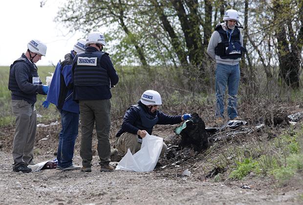 Силы ООН планируют привлечь для охраны сотрудников ОБСЕ, работающих в регионе