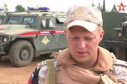 Командир отряда военной полиции рассказал о выходе из окружения боевиков в Сирии