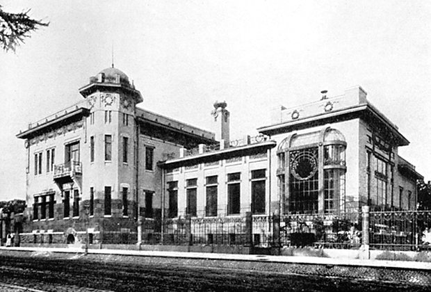 Особняк Кшесинской на Кронверкском проспекте вскоре после окончания строительства