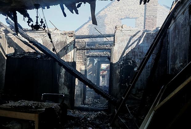 Жителей Калиновки эвакуировали сотрудники полиции и бойцы Нацгвардии