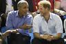 Барак Обама и принц Гарри