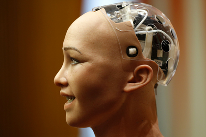 Пообещавшая уничтожить человечество робот София выступила в ООН