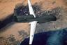 Американский летательный беспилотник RQ-4A Global Hawk