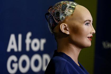 Робот София впервый раз вмире получила подданство Саудовской Аравии