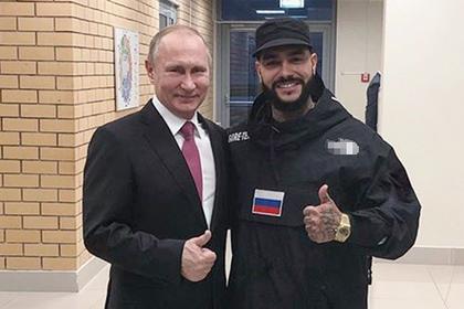 Тимати сфотографировался с Путиным и собрал рекорд по лайкам