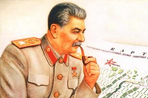 Плакат Виктора Говоркова «И засуху победим!»