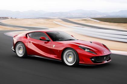 Российской элите показали самый быстрый Ferrari