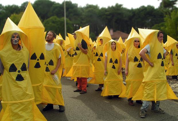 Протесты против строительства Висагинской АЭС в Литве