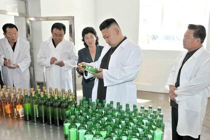 «Водку ипиво— немешать», передали вНовый год порадио КНДР
