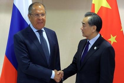 МИД Китая проинформировал оготовности наращивать сотрудничество сРоссией в нынешнем году