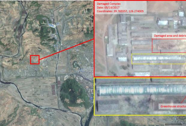 В КНДР во время испытания упала одна из северокорейских ракет