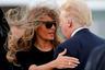 Мелания Трамп с мужем Дональдом