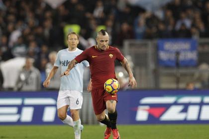 Игрока «Ромы» наказали зашумное поведение штрафом в 100 тысяч  евро