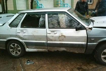 В ДНР пьяный водитель без документов и с гранатами сбил группу пешеходов
