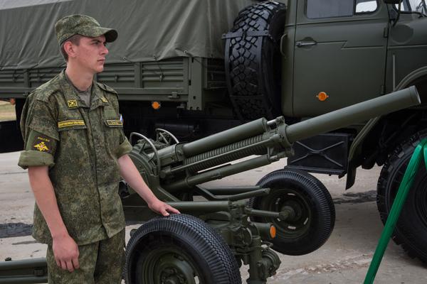 Автоматический 82-миллиметровый миномет 2Б9 «Василек»