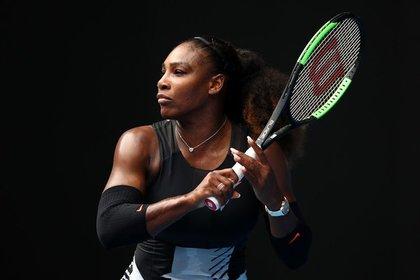 Серена Уильямс снялась сAustralian Open