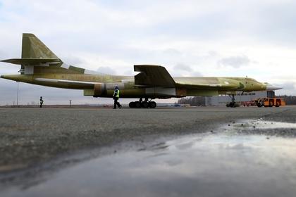 Опытный образец Ту-160М2