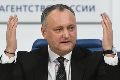 В Молдавии запретят российские новости против воли президента