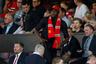 Усейн Болт на матче «Манчестер Юнайтед»