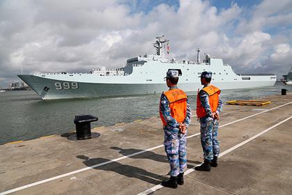 КНР увеличит военное присутствие наБлижнем Востоке