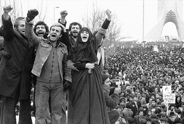 Сторонники исламской революции, 1979 год