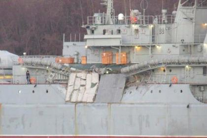 Корабль Черноморского флота столкнулся ссухогрузом вЭгейском море