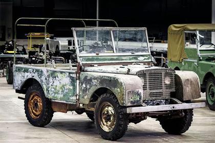 В Великобритании восстановят раритетный Land Rover 1948 года class=