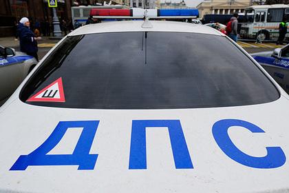 Главк: Пешеход, попавший под колеса полицейского, убежал сместа ДТП
