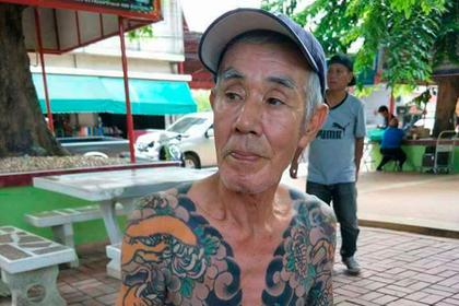 ВТаиланде задержали беглого руководителя группировки якудза из-за снимка в фейсбук