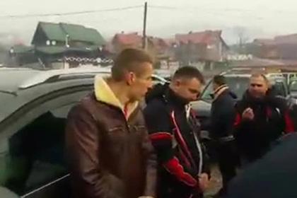 Украинский депутат пожаловался ветеранам АТО на белорусов с георгиевской лентой
