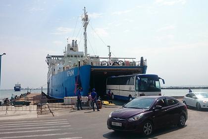 В Крыму ликвидировали оператора Керченской паромной переправы