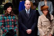 Герцогиня Кембриджская Кейт, принц Уильям, Меган Маркл