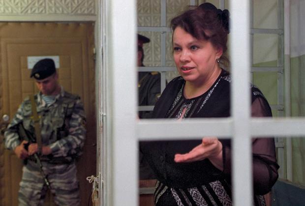 Глава ИЧП «Властилина» Валентина Соловьева на заседании суда.