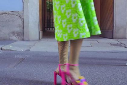 Итальянцы изобрели кроссовки на лентах