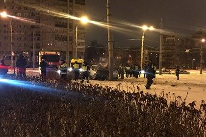 Гонка с полицией оказалась смертельной для трех петербуржцев