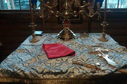 В Киеве обнесли почти построенный храм