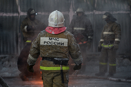 В Москве загорелась электричка с тысячей пассажиров
