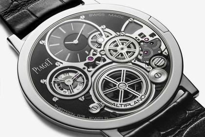 Швейцарцы выпустили часы толщиной с монету